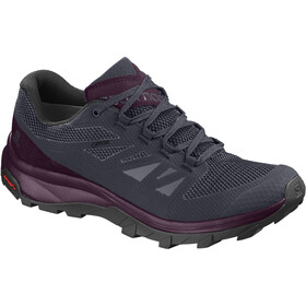 Salomon W's OUTline GTX Shoes Graphite/Potent Purple/Potent Purple